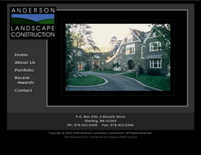 Anderson Landscape Construction, Sterling, MA